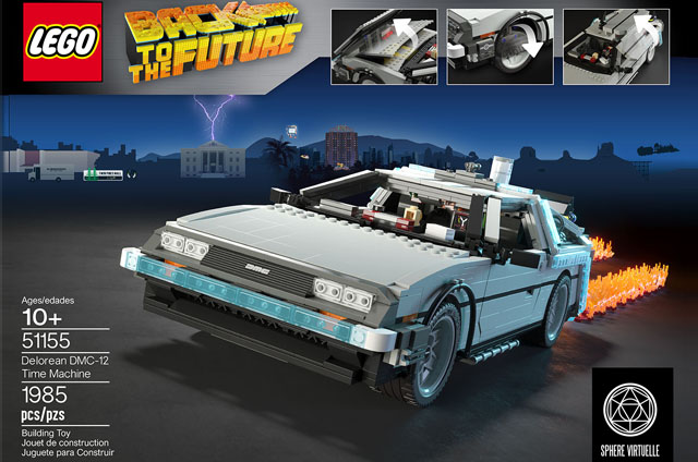 Delorean Time Machine • Back to the Future